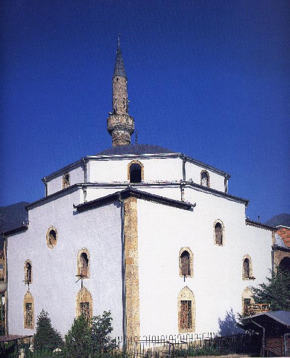 Première intervention sur une zone de guerre: Mosquée Bajrakli, Peć/Peja, Kosovo