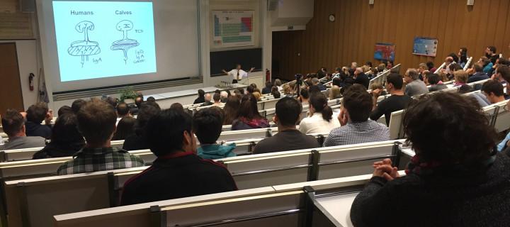 Nobelpreisträger Rolf Zinkernagel beehrt die Universität Freiburg