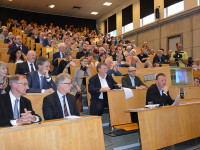 Salle comble pour l'inauguration du Centre Suisse Islam et Société