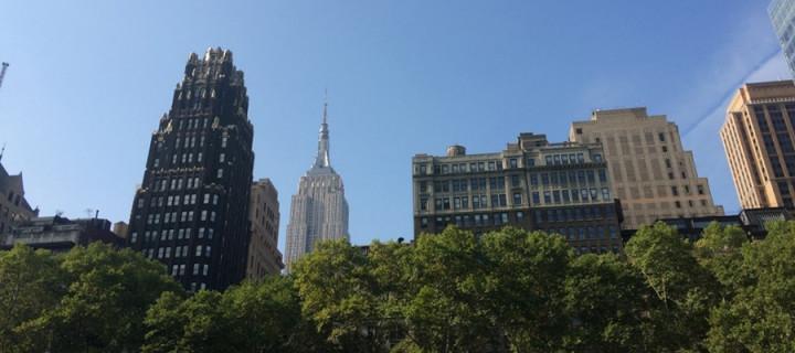 Central Park. Health 1 – Stress 0