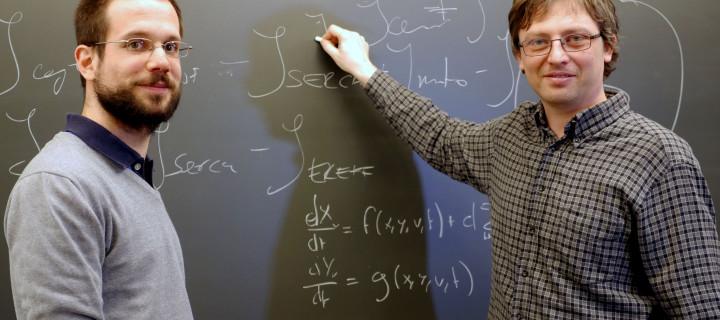 Ondes calciques: Les mathématiques au secours de la biologie