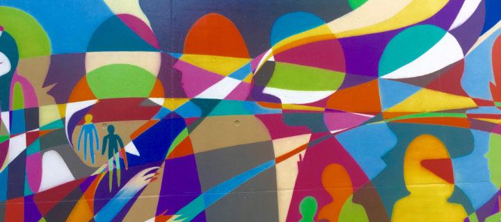 Uni-informel – Sous mes yeux: la naissance d'une fresque