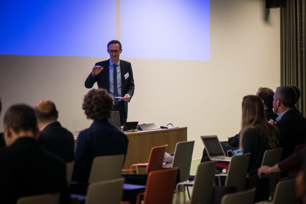 Olivier Curty, conseiller d'Etat directeur de l'économie et de l'emploi du Canton de Fribourg