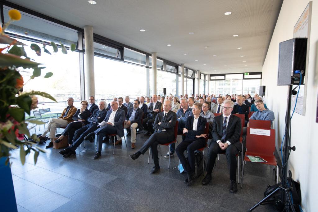 Inauguration Pavillon de la médecine, Uni Pérolles, 19.04.2018