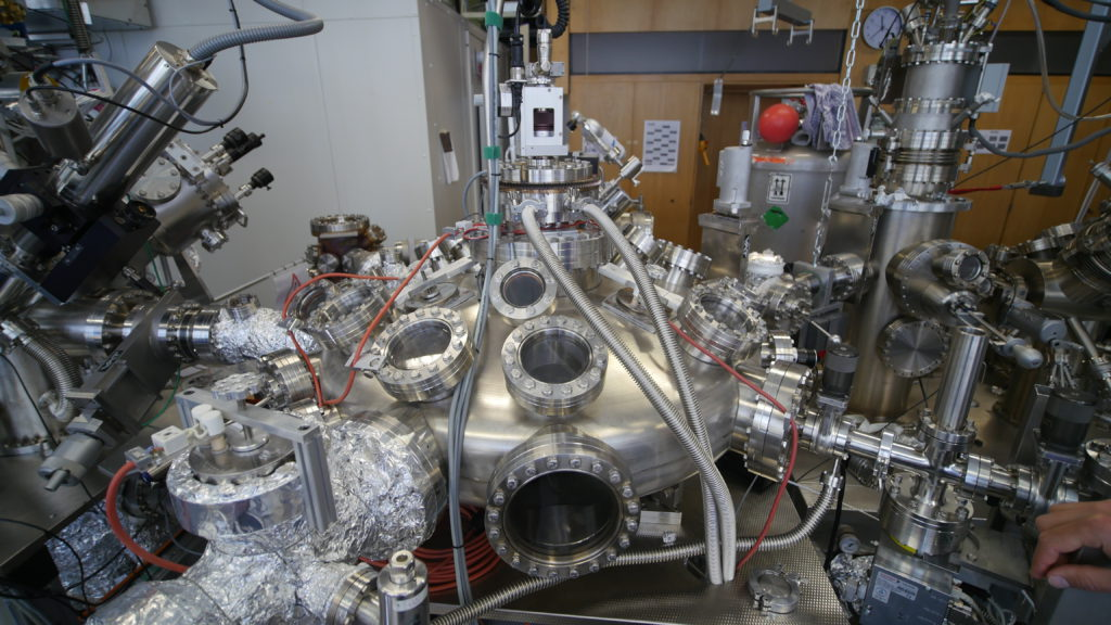 Le microscope à effet tunnel du Département de physique