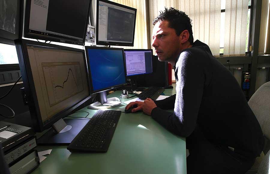 Thomas Jaouen assistant docteur au Département de physique