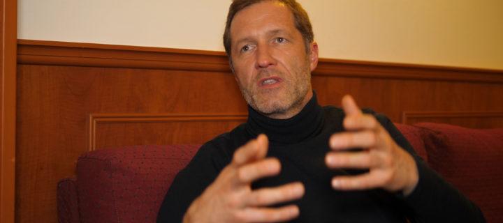 Rencontre avec Paul Magnette, bourgmestre de Charleroi