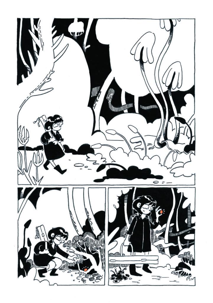 Une œuvre sans texte «pour dépasser la barrière des langues» présentée au Fumetto Comics Festival.