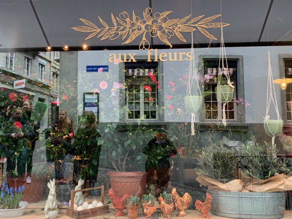 Aux fleurs, Rue de Lausanne 36.