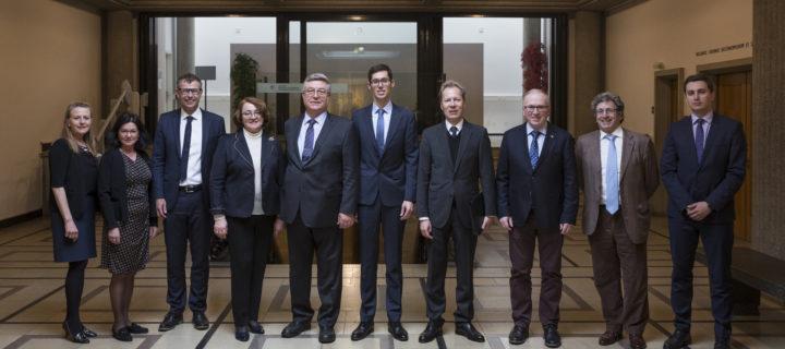 Russischer Botschafter in Freiburg zu Besuch
