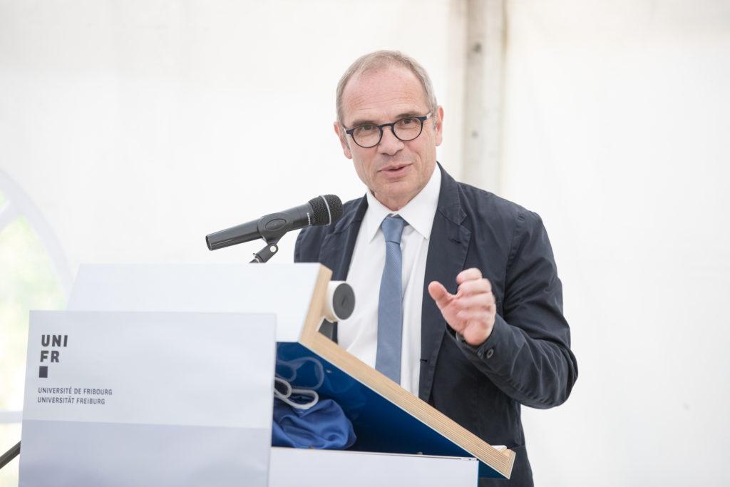 Thierry Steiert, syndic de la Ville de Fribourg