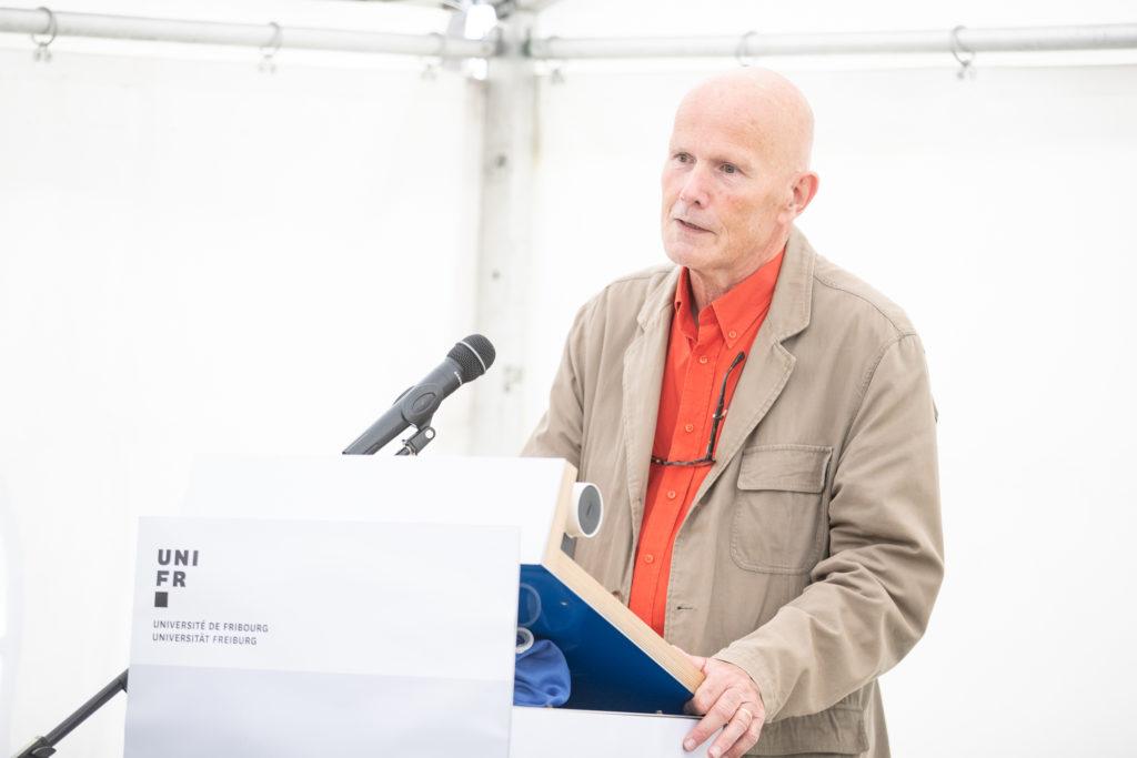 Michel Bareau, directeur artistique des Editions Moulinsart