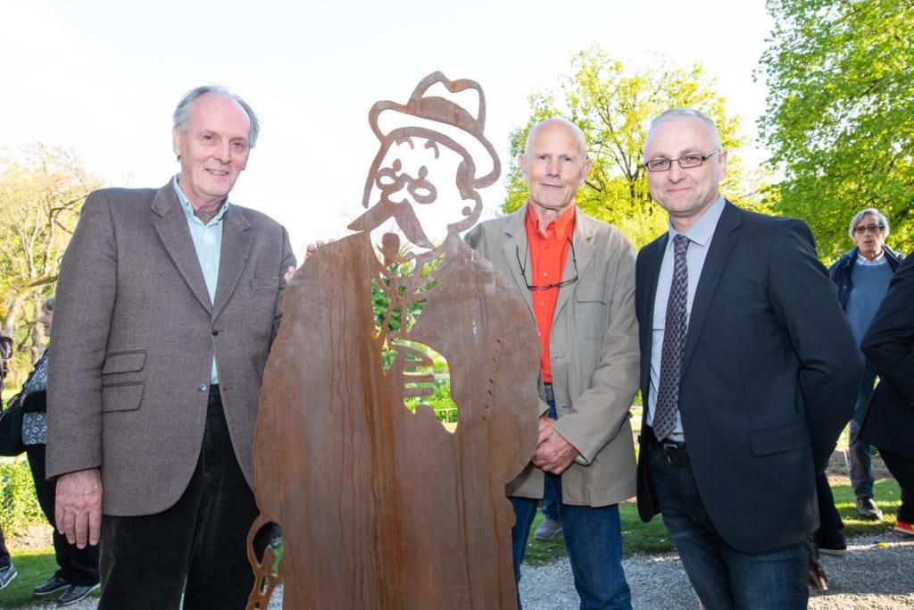 Andy Jacobs, Michel Bareau et Gregor Kozlowski