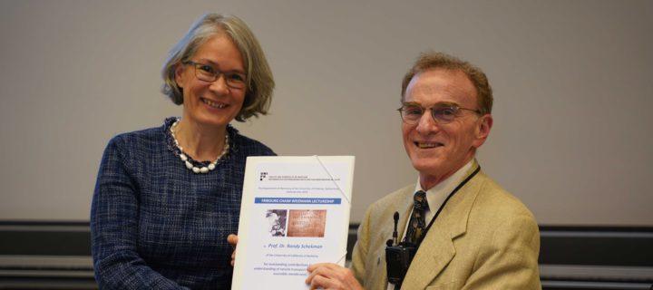 Randy Schekman: «Le prix Nobel, un rêve d'enfant!»