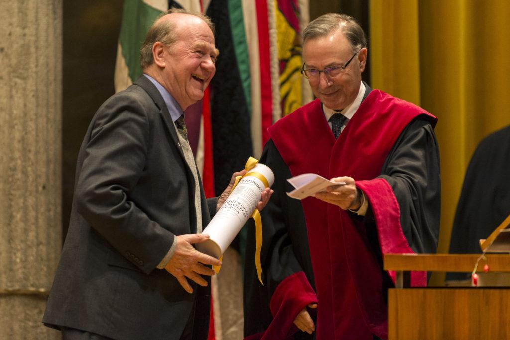 Prof. Christoph Theobald SJ, docteur h.c. de la Faculté de théologie