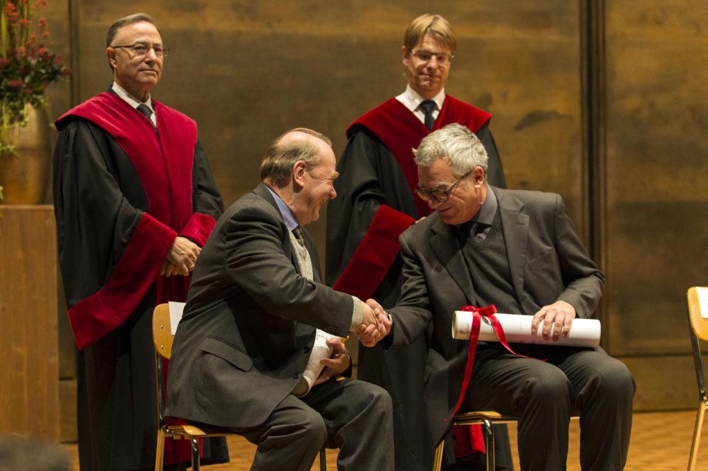 Prof. Christoph Theobald SJ et Prof. Mauro Bussani