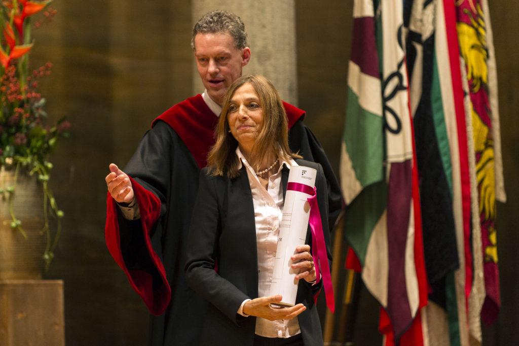Prof. Maria Grazia Speranza, docteure h.c. de la Faculté des sciences économiques et sociales et du management