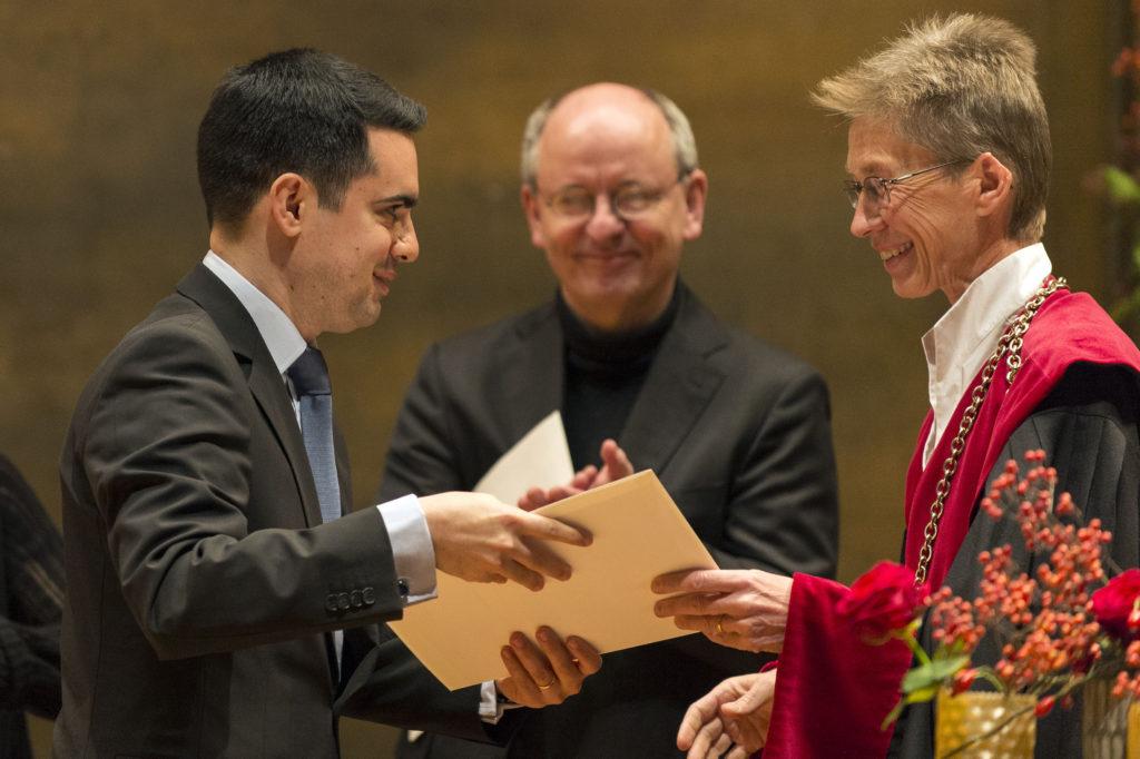 Ramin Silvan Gohari, prix Vigner de la Faculté de droit