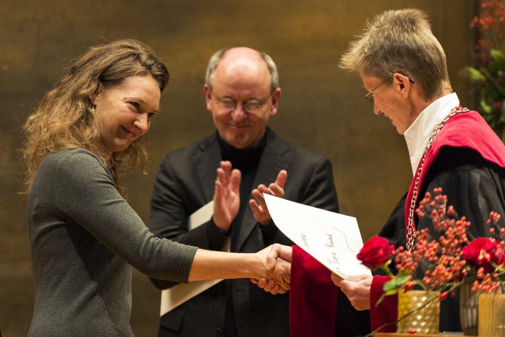 Anna Maria Koukal, prix Vigner de la Faculté des sciences économiques et sociales et du management