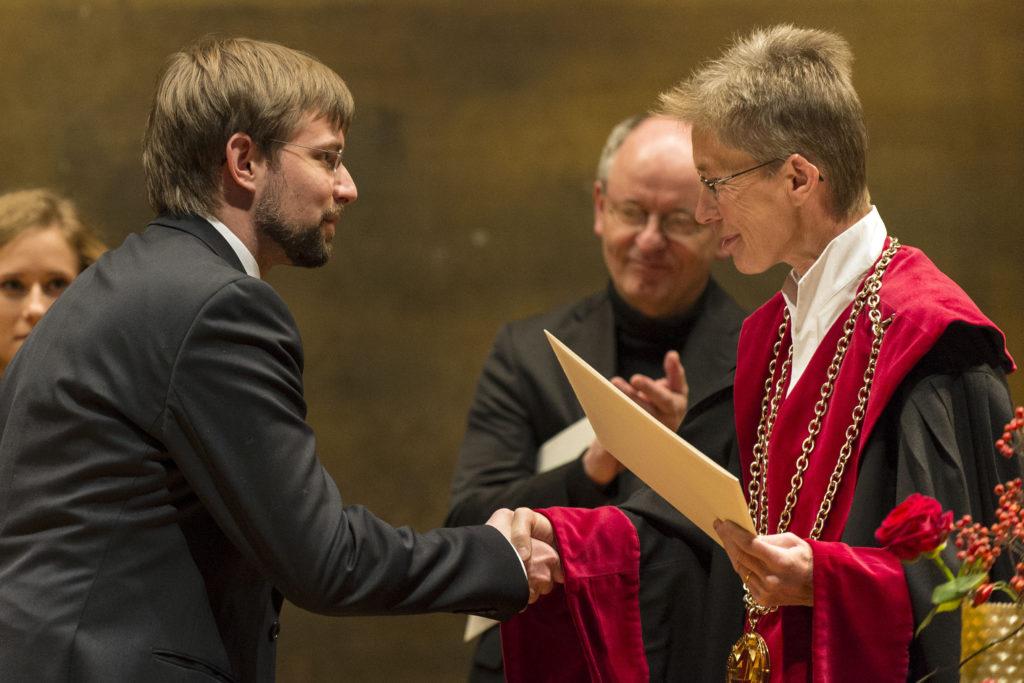 David Imhof, prix Vigner de la Faculté des sciences économiques et sociales et du management