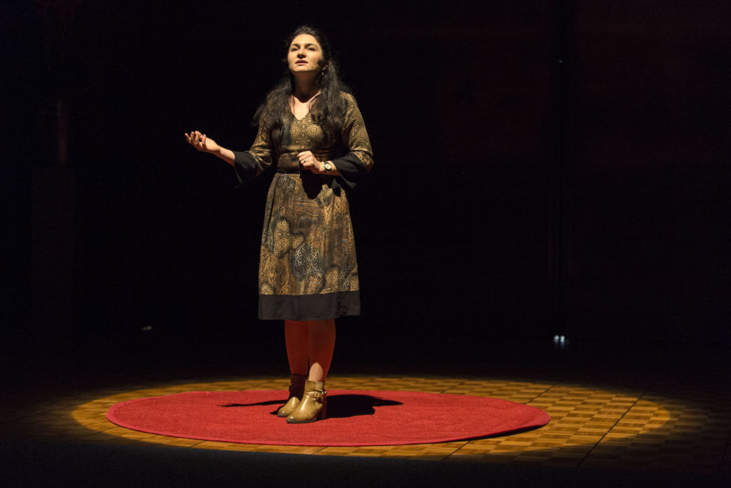 Isabela Grigoras, finaliste suisse de Ma thèse en 180 secondes