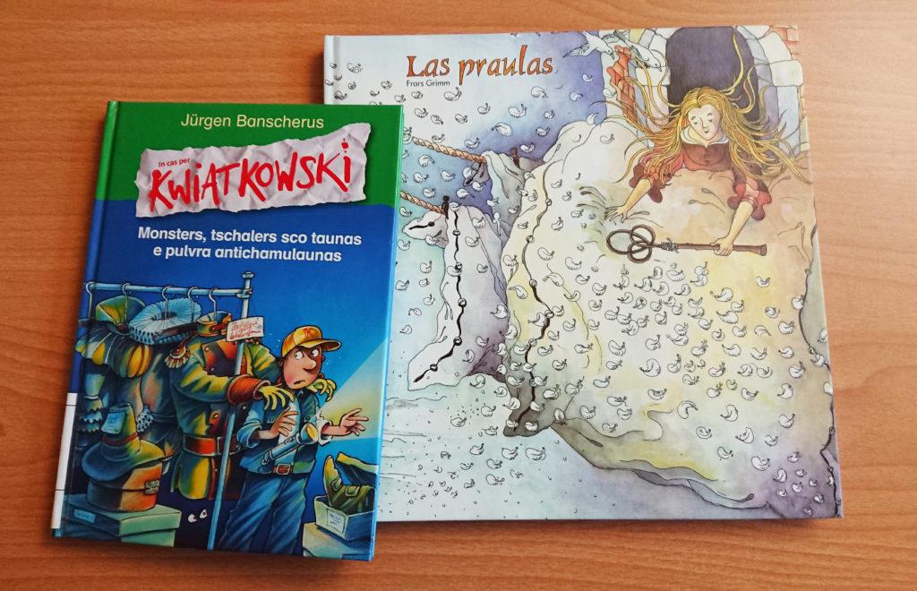 La BLL acquiert des ouvrages pour enfant en Romanche, cela nous change un peu de certains ouvrages un peu plus austères…