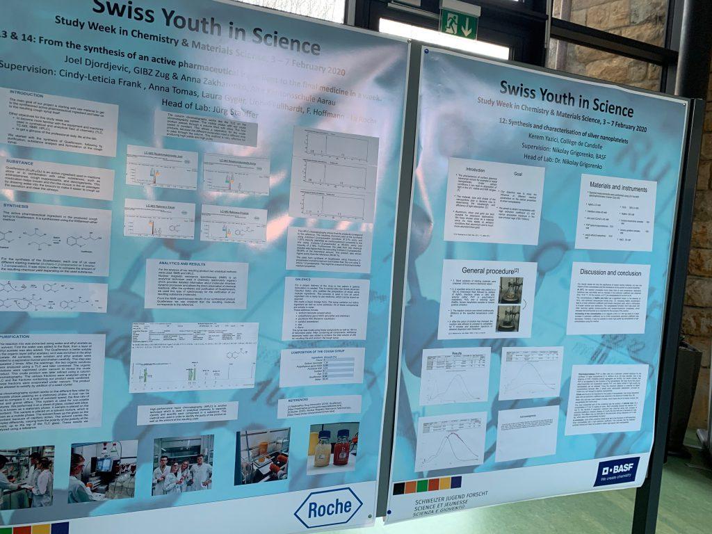 ... sich über Posterpräsentationen über die einzelnen Projekte genauer zu informieren.