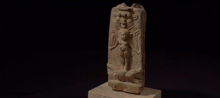 Eine Stele um Kinder zu beschützen