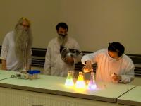 Le Noël  haut en couleur du Département de chimie