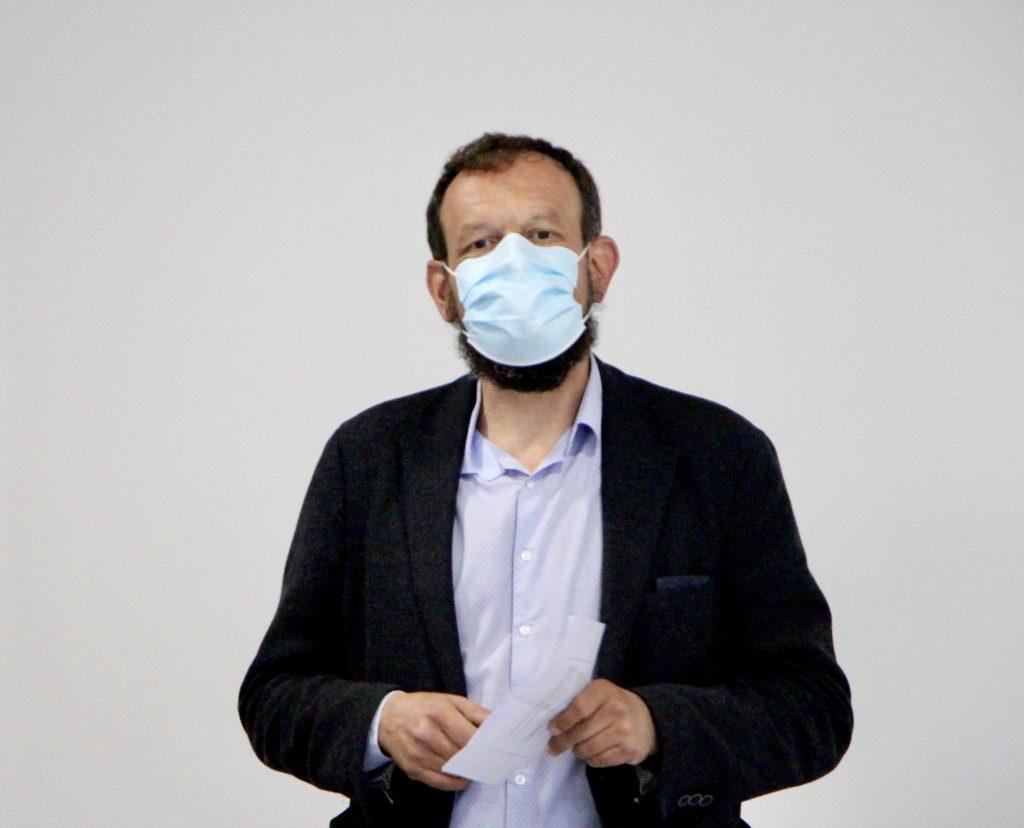 Christophe Monney, médecin cantonal adjoint, fait le point sur les premières phases de test pilote.