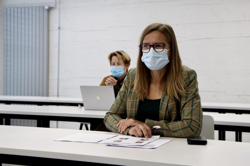 Virginie Masserey, cheffe du contrôle de l'infection et programme de vaccination à l'OFSP