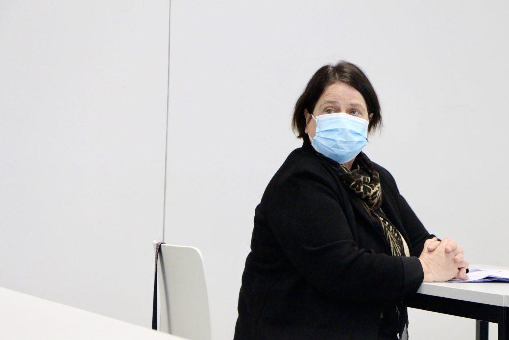 Anne-Claude Demierre, directrice de la santé et des affaires sociales