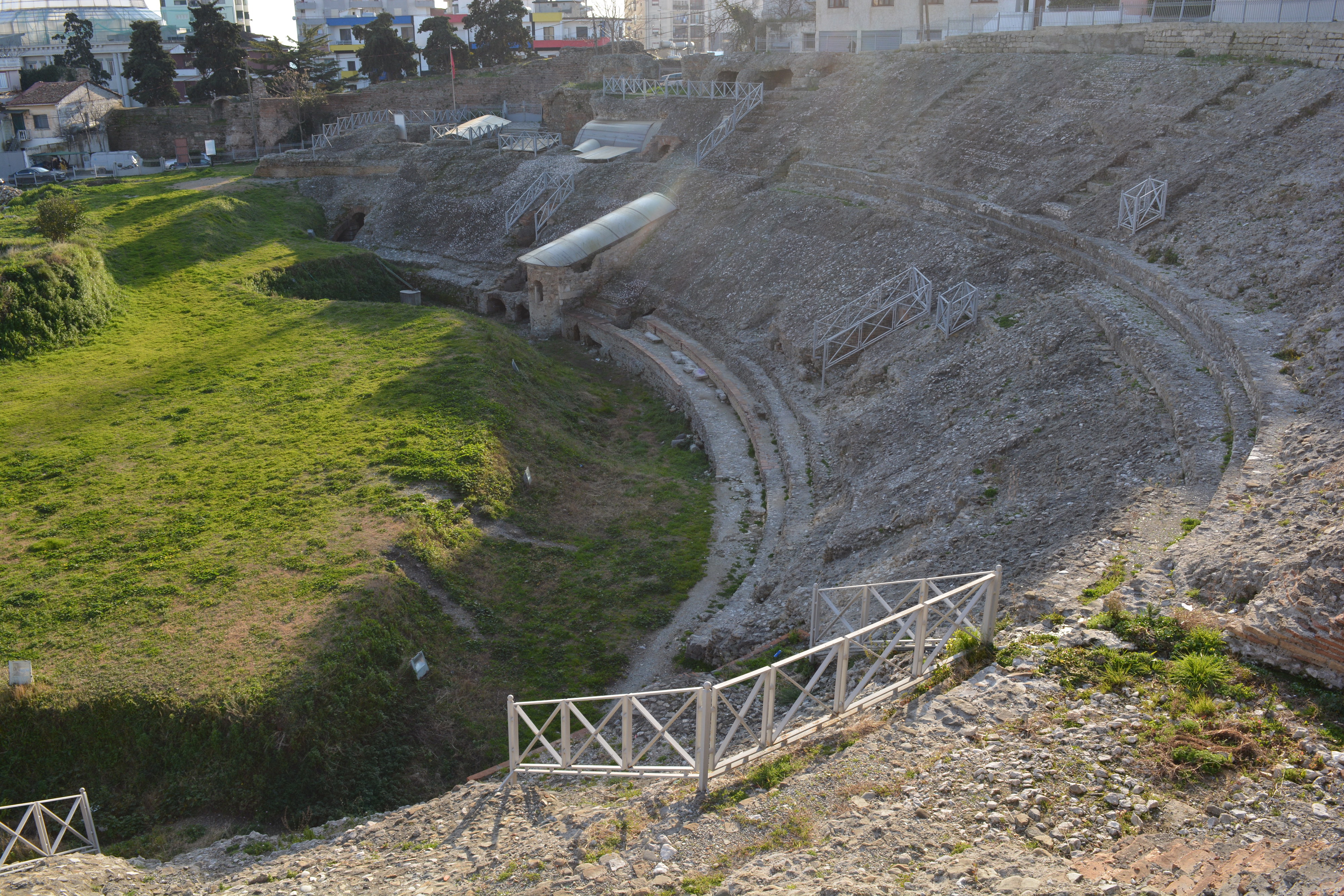 Roman Amphitheatre - for about 20'000 people