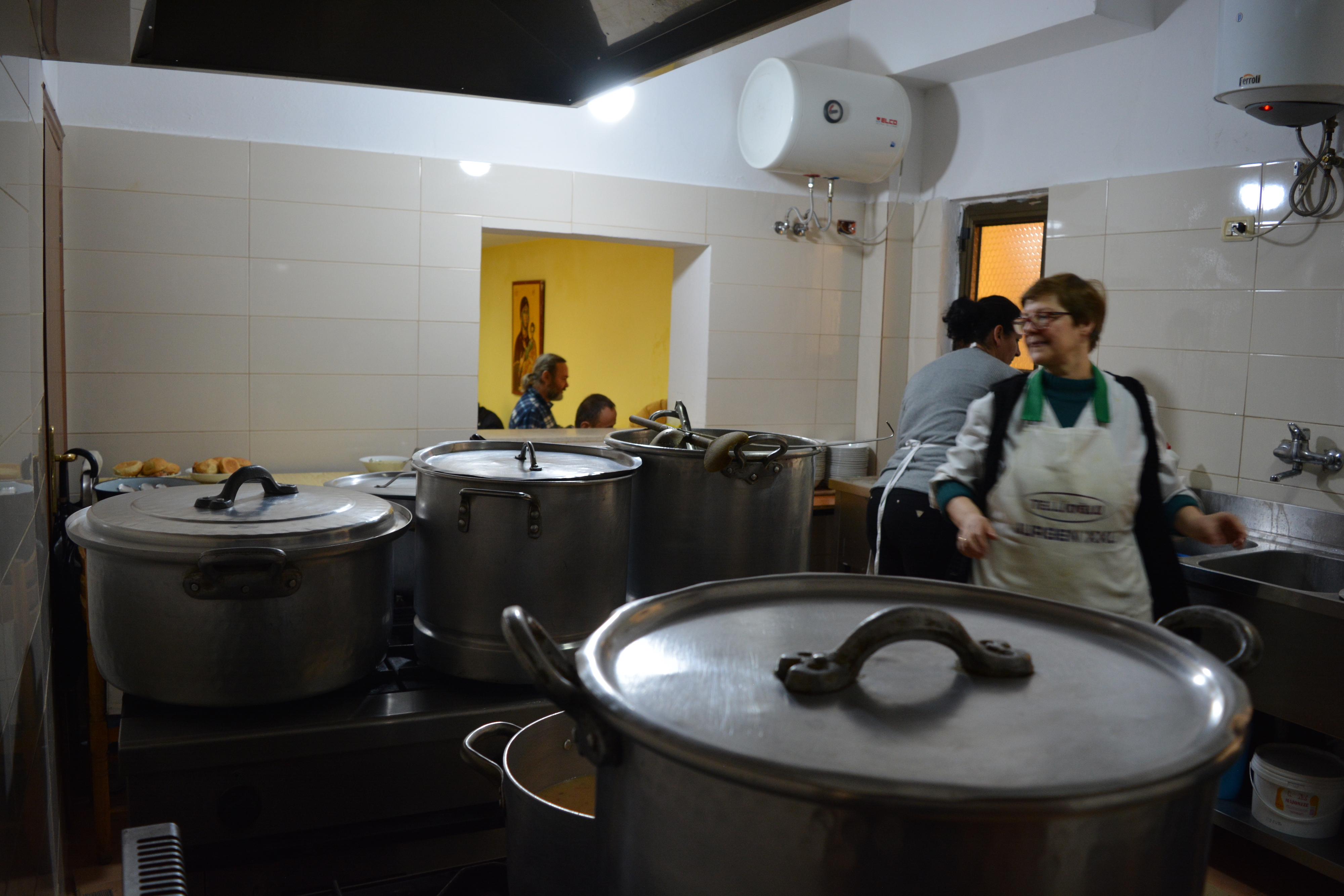 Soup Kitchen for poor and homeless people