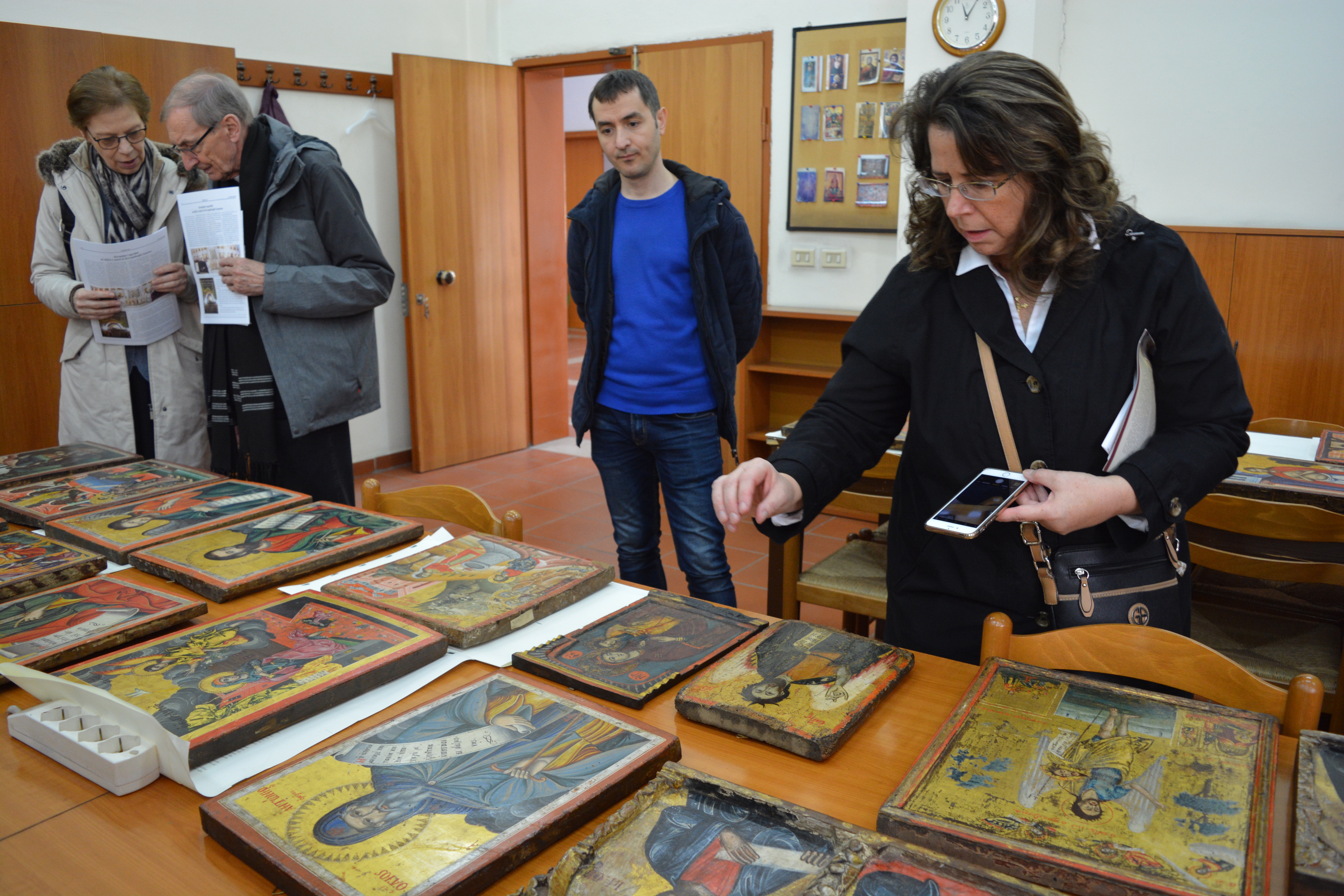Restauration of icons